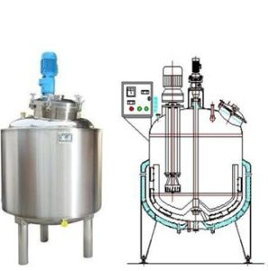 Double Jacketed Stainless Steel Tank with Mixer pictures & photos