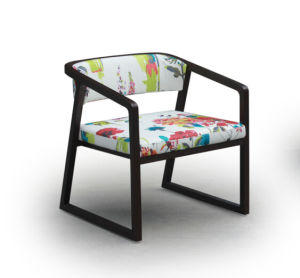 New Design Fabric Color Optional Arm Chair pictures & photos
