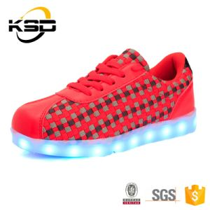 New Design LED Shoes Hight Quality Leisure Shoes with 4 Color