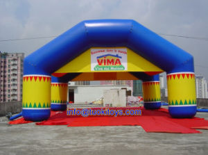 0.55m PVC Inflatable Tent Used for Recreational Purpose (A752)
