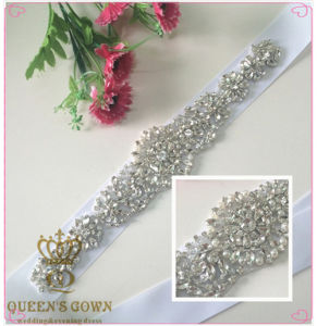 Fashion Handmade Beaded Wedding Dress Rhinestone Belts, DIY Accessories