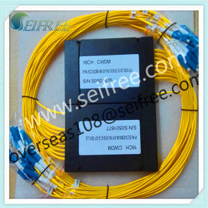 16 Channel Mux Fiber Optic CWDM (for Line Monitoring) pictures & photos