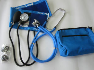 Aneroid Sphygmomanometer with Dual Head Stethoscope pictures & photos