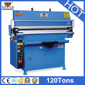 Hg-E120t/a Hydraulic Leather Belt Making Machine pictures & photos