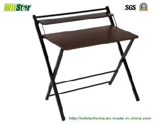 New Metal Wooden Foldable Office Desk Ws16 0145 For Home Furniture