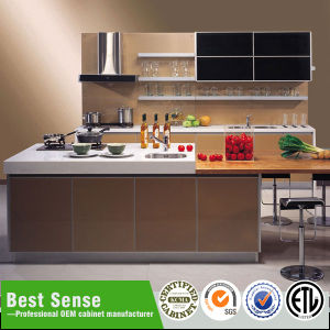 Top Quality E1 Grade Waterproof MDF Lacquer German Kitchen Cabinets For Sale