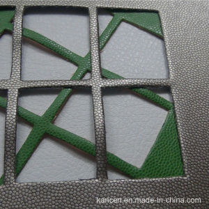 Professional High-Quality Soft and Waterproo Leather of Decorative (KC-W028)