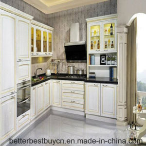 Modern Style Solid Wood Cooking furniture Kitchen Cabinet pictures & photos
