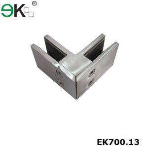 Glass 90 Degree Square Corner Clamp