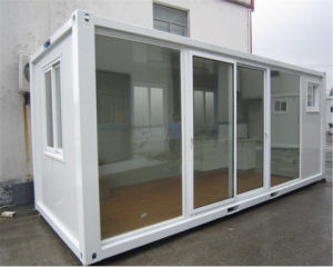 Tiny Container House with Glass Sliding Door pictures & photos