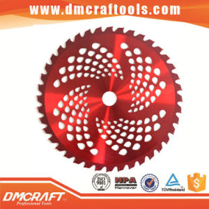 Color Painted Tct Carbide Brush Cutter Saw Blade pictures & photos