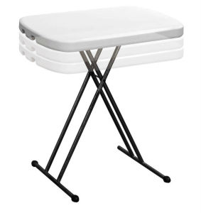 Height Adjustable Mini Table For Kids/Small Reading Table/Child Plastic  Folding Desk