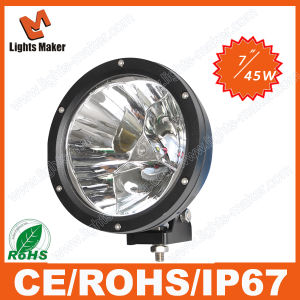 China High Power Super Bright Portable 45w Led Spotlight Reflector