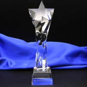 Custom Hot Sale Clear Crystal Trophy Awards for Business Gifts pictures & photos