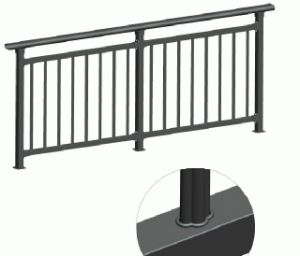 Frameless Tempered Glass Stainless Steel Railings Baluster Railing pictures & photos