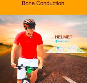 Bone Conduction Smart Helmet for Christmas New Year Gift to Outdoor Rider