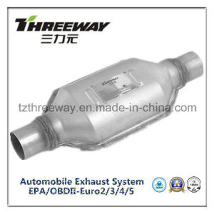 Car Exhaust System Three-Way Catalytic Converter #Twcat024 pictures & photos