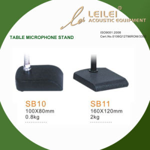 Ajustable Table Microphone Stand Base (SB10 SB11) pictures & photos