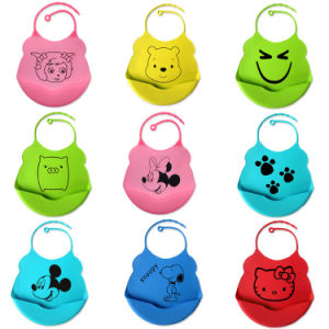 Wholesale Eco-Friendly Silicone Infant Bibs pictures & photos