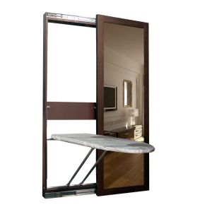 China New Style Adjustable Folding Ironing Board China Wall Mounted Ironing Board With Mirror And Dressing Mirror Price