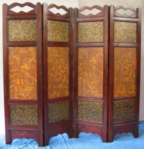 China Wooden Folding Screens Room Screens Room Dividers PF014