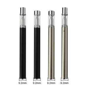 Disposable Vape Pen Ceramic Coil Cartridge Glass Vaporizer Tank 510 Thick  Oil Atomizer E-Cigarette Kits