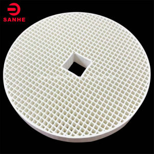 Far Infrared Honeycomb Ceramic Plate for Gas Furnace Burner