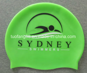Quality Silicon Swimming Caps with Logo Print