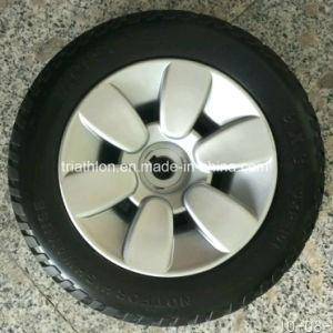 8X2 9X3 10X3 Power Wheelchair PU Foam Flat Free Tire