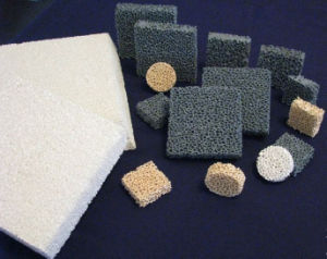 High Quality Ceramic Foam Filter China Manufacturer, Alumina Ceramic, Silicon Carbide, Zirconia, MGO Ceramic Foam Filter