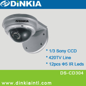Dome IR Vandalproof Camera CCD (DS-CD304)