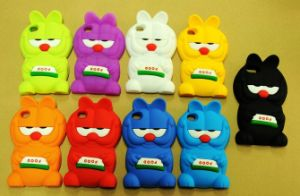 OEM Fashion Cute Garfield Silicone Mobile Phone Case (BZPC026)