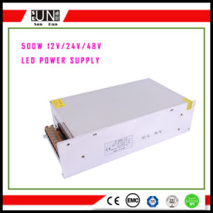 500W LED Power Supply, High Power 500W, Lighting Power 500W, 48V 500W, 12V 500W, 24V 500W LED Driver, 500W PSU, IP20 500W Power, 500W Switching Power Supply pictures & photos