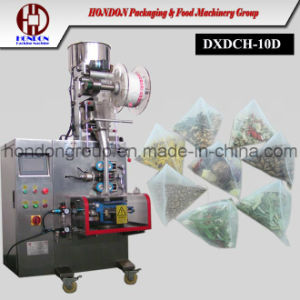 Ultrasonic Sealing Nylon Mesh Triangle Tea Bag Packing Machine pictures & photos