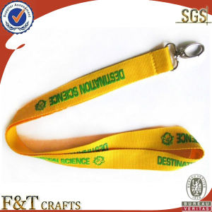 Promotional Kinds of Custom Printed Ribbon Carabiner EGO Lanyard pictures & photos