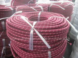 Industria Cotton Surface Textile Cover Rubber Oil Hose pictures & photos