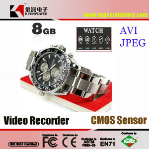 HD 1280X960 8GB Metal Case Watch Camera Camcorder DVR Digital Video Recorder pictures & photos