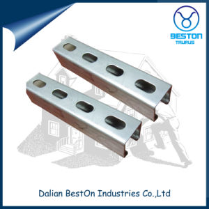 Metal Double Hole Strut Slotted Channel for Shopping Mall pictures & photos