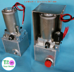 5 10 Tons 12v 24v Car Auto Vehicle Small Hydraulic Pump Unit