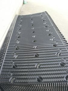 0.3mm Thick Cooling Tower PVC Fills with 19mm Flutes pictures & photos