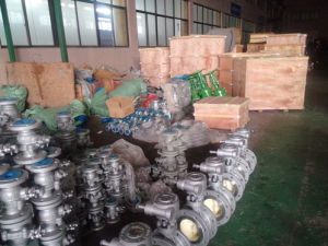 High Pressure Power Station Globe Valve with Flange pictures & photos