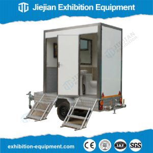 Portable Toilet Exhibition : China portable restroom site mobile toilet trailers for sale china