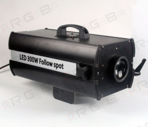 Theatre Stage LED Follow Spot Light RGBW Mini 300W Stage Spot Light pictures & photos
