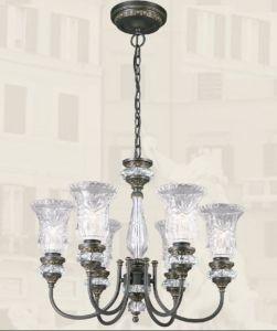 China Navona Alloy Crystal European Chandelier Light - China ...