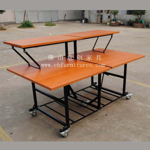 Melamine Double-Deck Buffet Table (YC-T58-02) pictures & photos