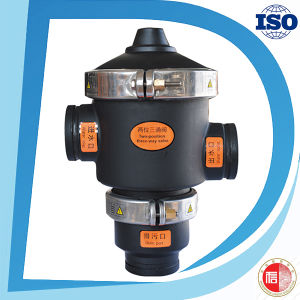 3 Inch 24V Three Way Solenoid Drain Hydraulic Control Flush Valve pictures & photos