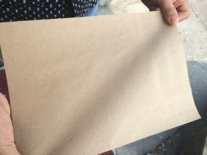 paper made from wood pulp