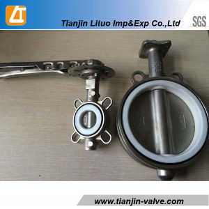 Stainless Steel Butterfly Valve 4 Inch pictures & photos