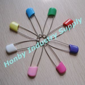 55mm Plastic Heasd Baby Diaper Safety Pin