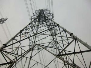 110kv Combination Steel Tower pictures & photos